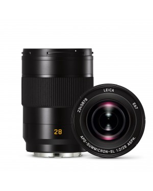 Leica-LEICA APO-SUMMICRON-SL 28 F/2 ASPH., NERO ANODIZZATO 11183-20