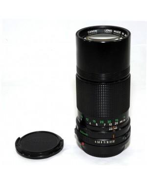 Canon FD 200mm F4 Con Anello anche Digitali