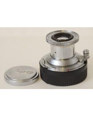 Leica Elmar 5cm F3.5 (50mm F3.5) Colassabile Con coperchi M Moun Vintage