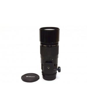Nikon AI-S Nikkor 300mm F4.5 Potente Teleobiettivo. Anche digitali