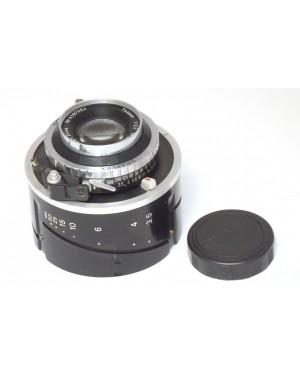 Zeiss-Carl Zeiss Tessar F 1:3 .5 / 100 mm Obiettivo per Graflex con Synchro Compur-20