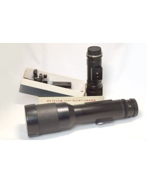 Leica-Leitz Wetzlal Leica Telyt R 560mm F6.8 Nikon AI Mount con Impugnatura a spalla Scatolato-20