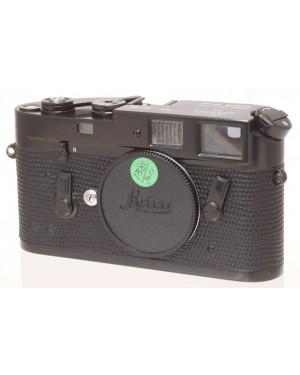 Leica M4 Black Paint / Nera S/N 1253396 Rivestimento rifatto. BELLA e RARA!