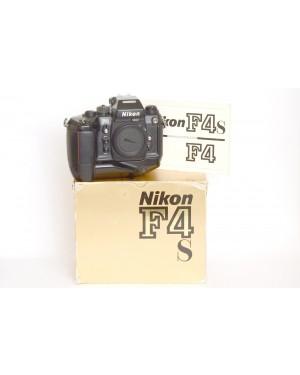Nikon F4s Motore MB-21 Scatolata. Il motore non riavvolge la pellicola. Funziona