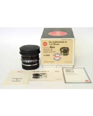 Shneider-kreuznach PA-Curtagon 1:/35mm per LEICA-R coperchi. Decentrabile