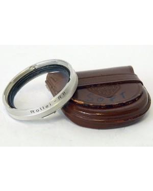 Rollei-Rollei Rolleiflex Filtro Rolleisoft R 11 con Custodia in Pelle-20