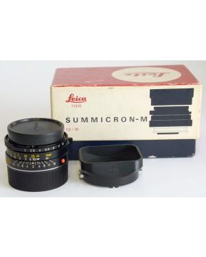 Leica 11310 Summicron-M 1:2 / 35mm IV Serie Preasferico 7 lenti King of Bokeh Scatolato