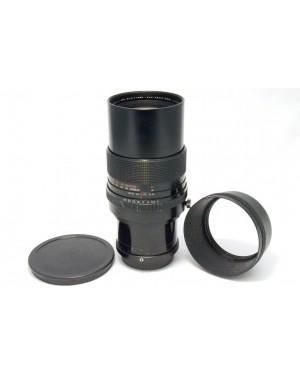Pentax-Aus Zeiss Jena DDR MC S 300mm f1:4 con Tappi e Paraluce per Pentax 645-20