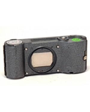 Leica-Leica Ernst Leitz Dark Grey Adox Dorso per Microscopio Wetzlar Germany D.B.P 1074601-20