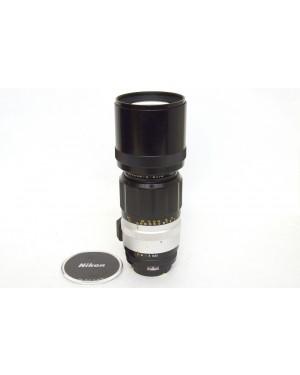 Nikon Nikkor-H Auto 300mm F4.5  Teleobiettivo Pre AI