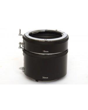 Generico-Panagor 2 Tubi di Prolunga per Macro 18mm e 36mm per Nikon-20