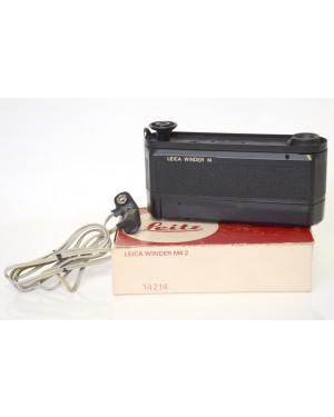Leica-Leica Winder M Nero con Scatola Bello e Funzionante-20