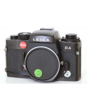 Leica R4 solo corpo Nera con Dorso Data e Tappo Originale Funziona Bene