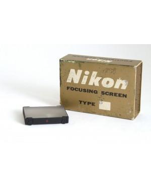 Nikon-Nikon Focusing Screen / Vetrino di messa a fuoco Type B-20