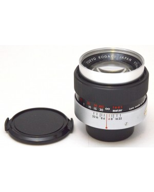 Topcon-Topcon UV TOPCOR Tokyo Kagaku 100 mm F1:4 Obiettivo No Autofocus-20