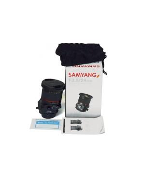 Samyang-OBIETTIVO SAMYANG 24MM F3.5 TILT/SHIFT ED AS UMC PER NIKON PERFETTO-20