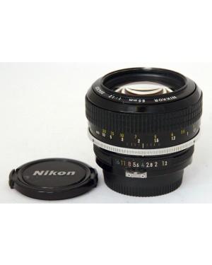 Nikon Nikkor Pre / Non AI 55mm f1:1.2 Modificato AI Rarissimo Vintage