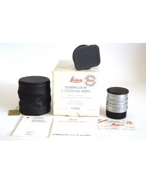 Leica 11883 Summilux-M 35mm F 1.4 ASPh. Chrome ex Demo Nuovo da Vetrina
