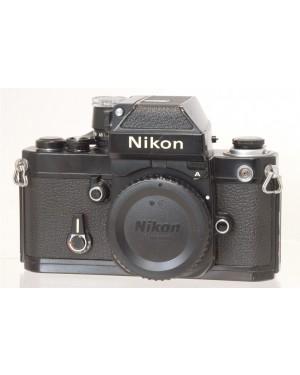Nikon-Nikon F2 A Solo Corpo Nera Testata e Funzionante 100%-20