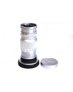 Leitz Wetzlar Leica Elmar 90mm F4 M Mount con tappi