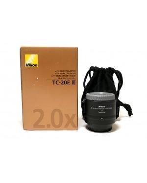 Nikon-NIKON AF-S TELECONVERTER TC-20E II COME NUOVO NITAL-20