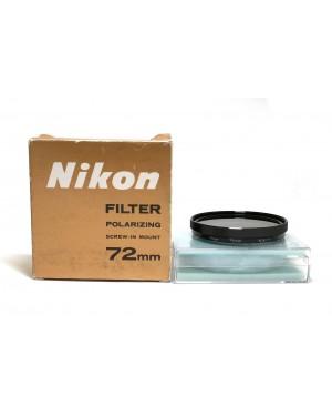 Nikon-NIKON FILTER POLARIZING SCREW-IN MOUNT 72MM-20
