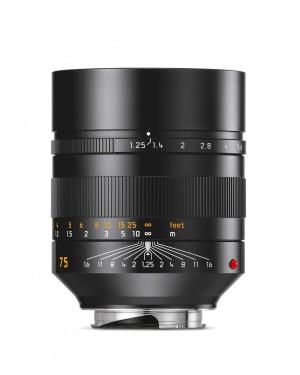 Leica-LEICA NOCTILUX-M 75MM F1.25 ASPH 11676-10