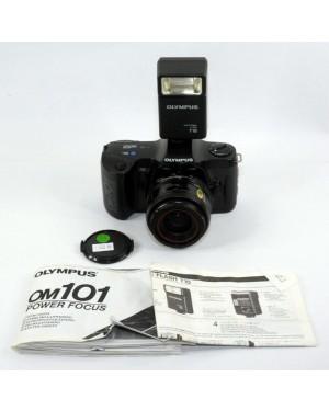 Olympus-Olympus OM101 OM 101 Power Focus + 35-70mm e Flash T18-10