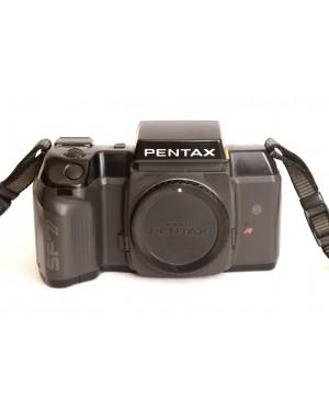 Olympus-Pentax SF7 Solo Corpo con Coperchio e Cinghia a tracolla-10