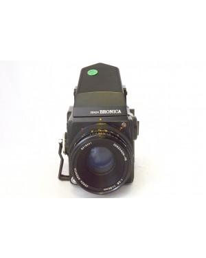 Zenza-Zenza Bronica SQ-A con Zenzanon-PS 80mm F2.8 Mirino Prisma Esposimetrico, Magazzino 120-10