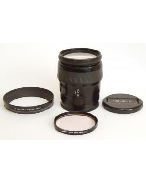 Minolta-Minolta AF Zoom XI 28-105mm 1:3.5-4.5 Con Tappi Paraluce e Filtro Ottimo-10