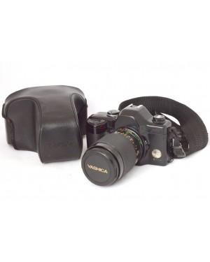 Yashica-Yashica 108 Multi Progam co Mc Zoom 28-80mm con Borsa. Funziona bene-10