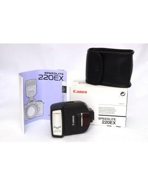 Canon-FLASH CANON SPEEDLIGHT 220 EX-10