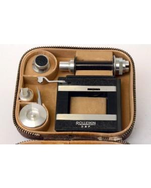 Rolleiflex-Rolleiflex Rolleikin 35 Kit per lutilizzo di Pellicole 35mm con Custodia in Pelle-10