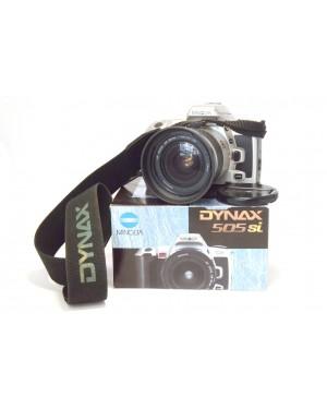 Minolta-Minolta Dynax 505si 505 si con Zoom 28-80mm Funzionante Scatolata-10