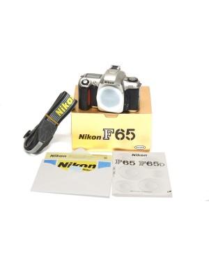 Nikon-FOTOCAMERA ANALOGICA NIKON F65-10