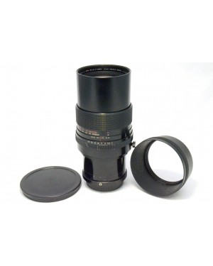 Pentax-Aus Zeiss Jena DDR MC S 300mm f1:4 con Tappi e Paraluce per Pentax 645-10