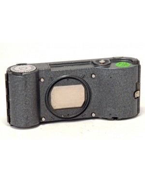 Leica-Leica Ernst Leitz Dark Grey Adox Dorso per Microscopio Wetzlar Germany D.B.P 1074601-10
