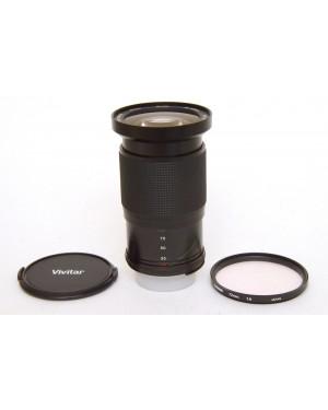 Generico-Nikon AI-S Vivitar Macro Zoom MC 28-105mmf3.5-4.5 con Tappi e Filtro-10
