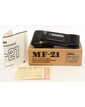 Nikon-Nikon MF-21 Dorso Multifunzioni x F-801 N800 Normali segni duso. Funziona-10