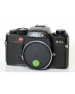 Leica-Leica R4s solo corpo Nera con Tappo Originale Esposimetro non Funzionante-10