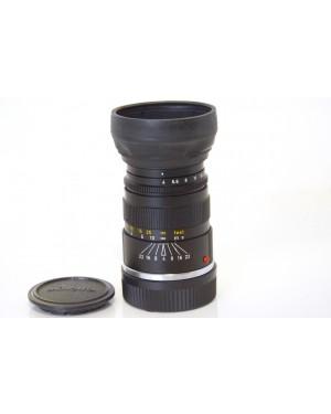 Minolta-Minolta M-Rokkor 90mm F4 Leica M Mount con Paraluce in Gomma-10