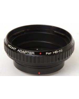 Generico-Anello per montare obiettivi HB-NI Hasselblad V System 500 series su Nikon F-10