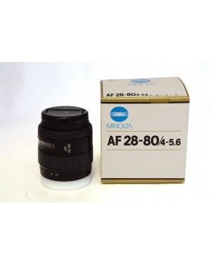 Minolta-OBIETTIVO MINOLTA AF 28-80 F4-5.6-10