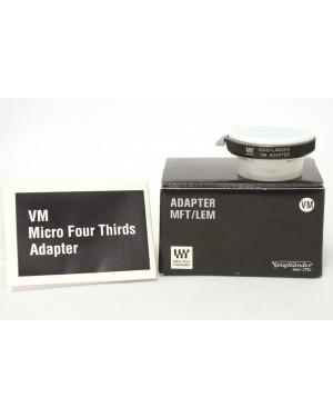 Voigtlander-Voigtlander VM Adapter Miccro 4/3 Mount Scatolato con Documenti-10