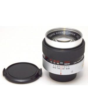 Topcon-Topcon UV TOPCOR Tokyo Kagaku 100 mm F1:4 Obiettivo No Autofocus-10