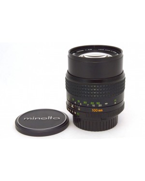 Minolta-Minolta MD Tele Rokkor 2,5 / 100mm Teleobiettivo da ritratto No Autofocus-10