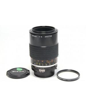 Nikon-Nikon AI-S Micro-Nikkor 105mm F4 con Tappi e Filtro-10