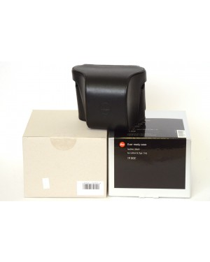Leica-Leica 19502 Borsa Pronto / Ready Case for Q Digital Camera (Leather, Black) Nuova-10