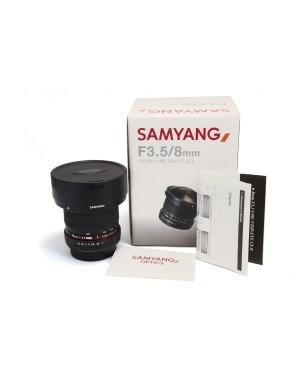 Samyang-OBIETTIVO SAMYANG 8MM F3.5 FISHEYE PER CANON PERFETTO-10
